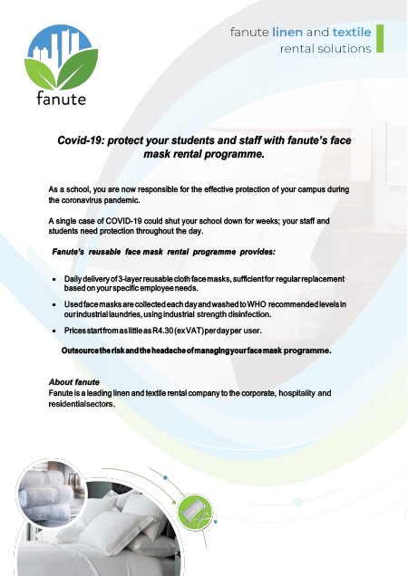 fanute-face-mask-rental-service-schools-brochure